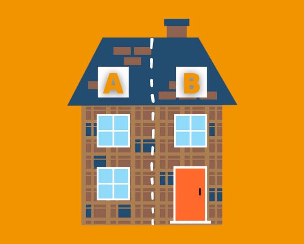 Woningen opsplitsen oplossing voor woningtekort?